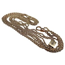 Edwardian G/F Slide-Guard Chain