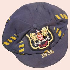 English School School Boy Cap 1936