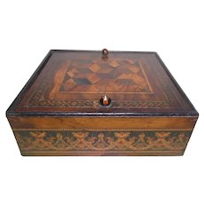 Royal Tunbridge Ware Box