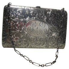 Beautiful Sterling Silver Evening Coin Purse