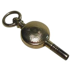 Gold Cased Pocket Watch Key