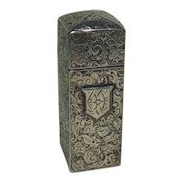 Antique Sterling Silver Perfume Case/Bottle