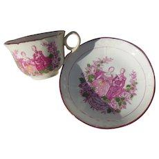 Queen Victoria & Prince Albert Wedding Cup & Saucer