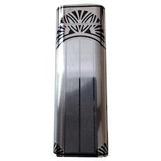 Cartier Briquet Sterling Silver Deco Inspired Lighter Limited Edition