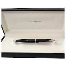 Alfred Dunhill AD1000 Carbon Fiber Ballpoint Pen With Box
