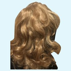 Lovely Human Hair Doll Wig-  size 16