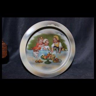 Cute Antique child's Feeding Dish