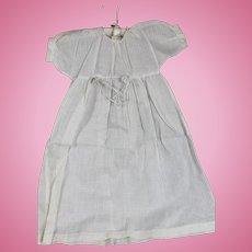 Antique Cotton Doll Gown
