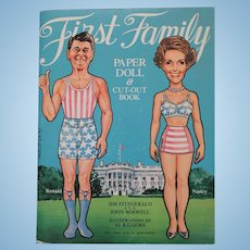 First Family Paper Doll & Cut-Out Book