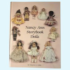 Nancy Ann Storybook Dolls-Book by Marjorie A. Miller