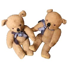 "Cutest ""Brother"" Bears- 10 inch mohair"