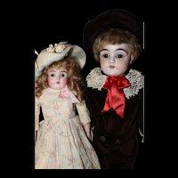 Delightful pair of Kestner Dolls