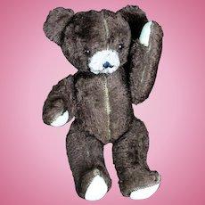 "Charming Vintage 16"" Teddy Bear"