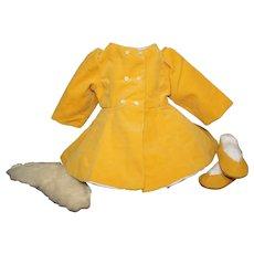 Terri Lee Velvet Coat