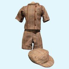 Boy's Wool Three-Piece Suit
