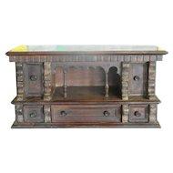 17th c Italian Baroque Letter Cabinet