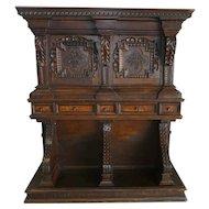 Late 18th Century Italian Baroque Desk / Cabinet