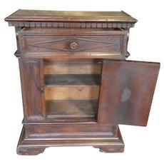 17th Century Italian Tuscan Single Door Cabinet