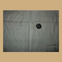 Antique heavenly pattern, quality cotton fabric Ca mid 1800s Dolls children women