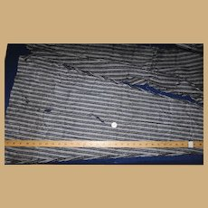 Vintage  blue stripe