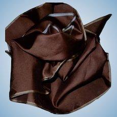 "Antique unused light weight faille type silk unused 18"" selvages"
