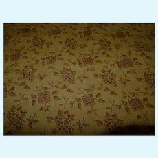 """SALE!!!  Antique simple pattern cotton monochromatic toned 24"""" selvages dolls women quilts"""
