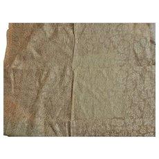 Antique brocade silk fabric small pattern dolls #3