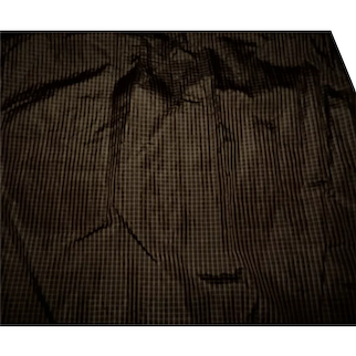 Antique silk taffeta fabric tiny checks Ca 1860 enfantine rohmers hurets