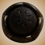5 Matching antique metallic acorn buttons dolls women restoration