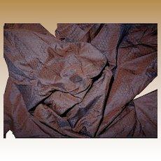 Antique intense shimmer iridescent 1860's silk fabric #1