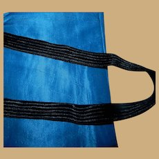 """3 1/2 Yards vintage rayon ribbed ribbon 3/4"""" wide"""