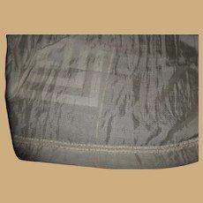 Antique sheer silk fabric silk trim Ca 1875 dolls restoration heirloom
