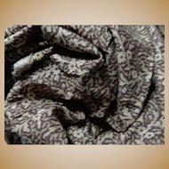 "Antique wonderful pattern cotton \26"" selvages dolls #1"
