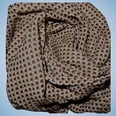 SALE!!!  Antique tiny pattern cotton voile Ca 1865 dolls women restoration child #1