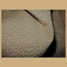 Antique roller print cotton fabric simple pallette dolls women quilts