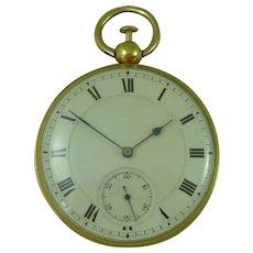 Richard Thomas Georgian 18K Gold Quarter Repeater Pocket Watch London 1824