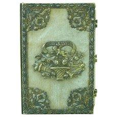 Regency Palais Royal Souvenir Aide Memoire Almanac Silver Gilt Vermeil Antique