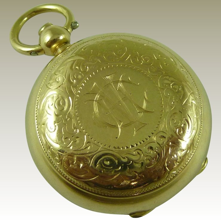 1900 15k gold sovereign coin holder case fob watch chain pendant 1900 15k gold sovereign coin holder case fob watch chain pendant locket 625 antique aloadofball Images