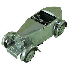 Dunhill Bolide MG Car Table Cigarette Lighter Novelty Blei & Bottoni Book