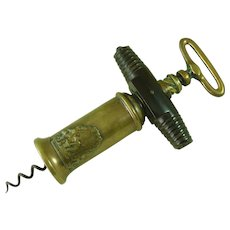 1802 Thomason III Variant Patent Corkscrew Pantechnetheca Bronze Antique