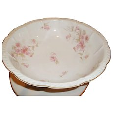 pink Daisies Street Price Ceramics & Porcelain Fine Victorian Haviland Scalloped & Footed Serving Or Display Bowl Bowls