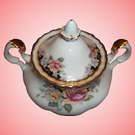 Vintage Royal Albert Covered Sugar Bowl - Concerto