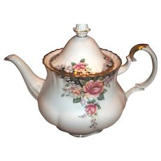 Royal Albert Tea Pot - Concerto - Mint Unused Condition