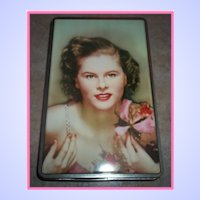 Portrait Deco Era Toffee Advertising Tin  Candy Land Rogall's  England