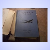 Advance In The Air H.C. Book Monk and Winter