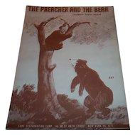 The Preacher And The Bear - Joe Arizonia - The Spotlighters  A.N.C. 338