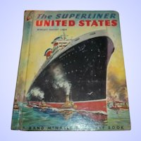 The Super Liner United States Children's Book  C. MCMLIII