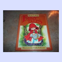 Vintage Children's Book Best Loved Fairy Tales