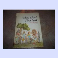 A Charming Book Titled The Storybook Cookbook C. 1967