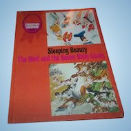 Sleeping Beauty The Wolf and the Seven Baby Goats Story Time Treasury C. 1969